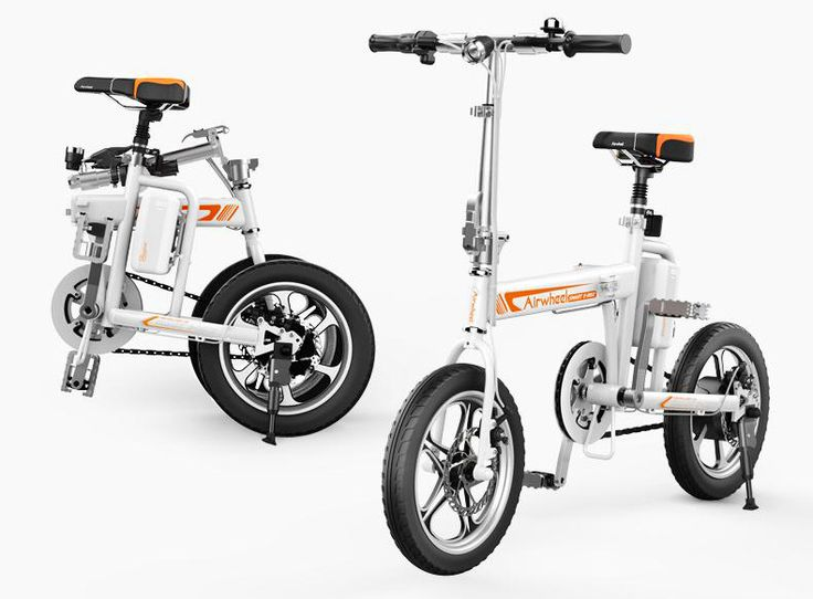 A great Masterpiece in Portable Travel Transport Sector: Airwheel R5 Smart Assist Electric Bike