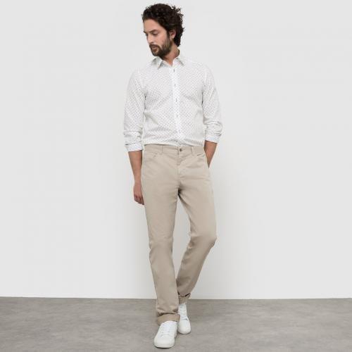 #Pantaloni Arancione beige bianco  ad Euro 27.95 in #R edition #Taglie comode uomo pantaloni