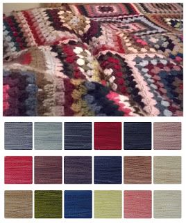 ColourSpun: ColourSpun Colourways - Margaret's Granny