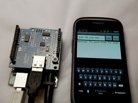 Android ADK terminal emulator for Arduino
