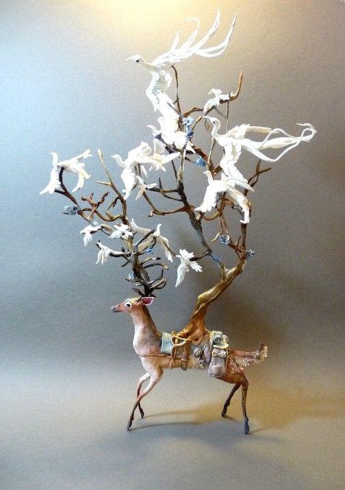 Sculptress Ellen Jewett (creaturesfromel on Etsy.com)