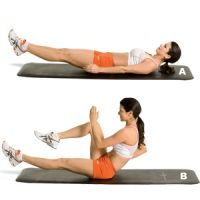Train your core with these eight moves three nonconsecutive days a week.