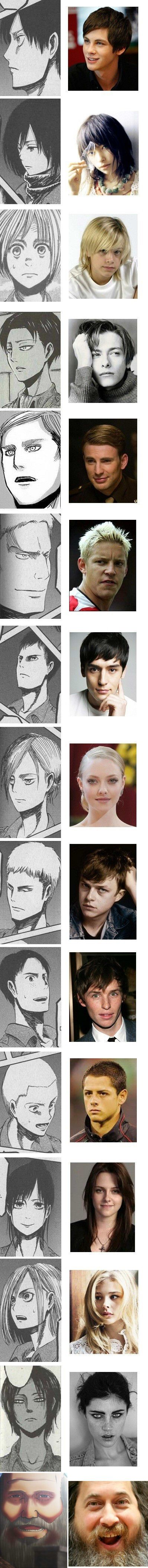 """Japanese Fans Suggest Foreign Cast for Live-Action """"Attack on Titan"""" (and it is PERFECT!)"""