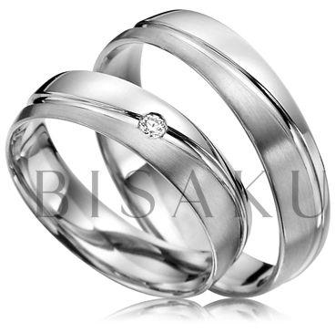Snubní prsteny Pure Palladium R141