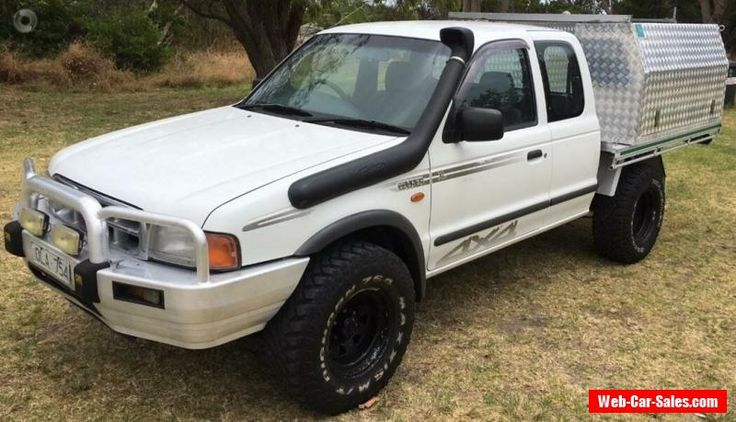2000 Ford Courier XL Manual 5sp M Extracab #ford #courier #forsale #australia