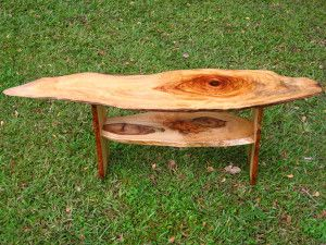 Camphor coffee table. $220 Illusive Wood Designs