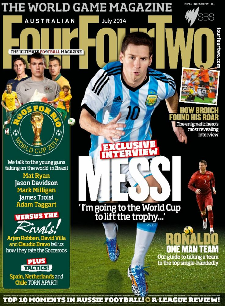 Keep up with all the #worldcup excitement by checking out the Zinio Australia Magazine of the Month for June, Australian FourFourTwo soccer magazine!  This month features an interviews with top players like Cristian Ronaldo, and Socceroos player commentary.Download the magazine FREE from Zinio, simply by visiting our eLbrary. To begin, create a personal account, log in with your email and password, and have your library card number  pin handy  http://lmg.hurstville.nsw.gov.au/e-Library.html