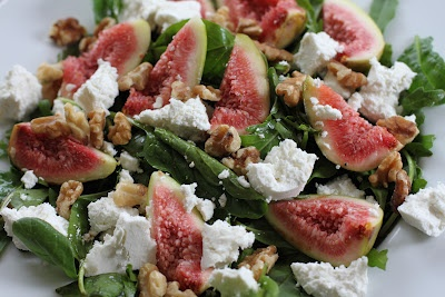 Heavenly salad! Insalata di fichi (fig salad)  http://karasitaliankitchen.blogspot.com.au/2012/03/insalata-di-fichi-fig-salad.html