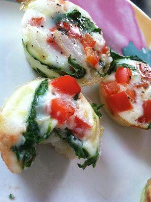 Groenten-eiwit-muffins (ontbijt of snack) C1