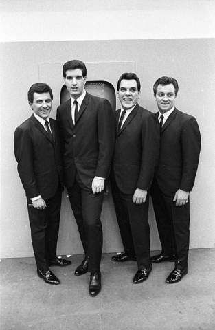 The Four Seasons are an American rock and pop band that became internationally successful in the 1960s.
