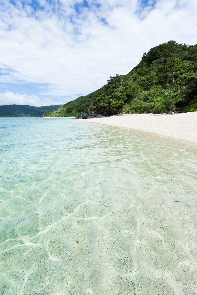 Namless beach, Amami Oshima Island, Uken-son, Kagoshima_ Prefecture_ Japan