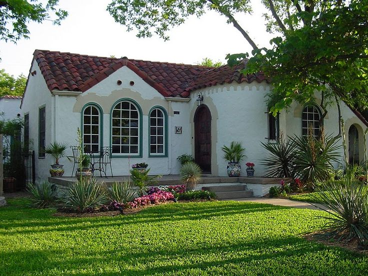 best exterior paint colors for small stucco home with orange tile ...