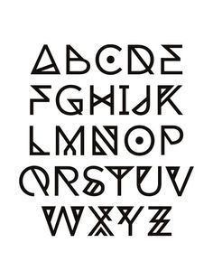 cool fonts alphabet - Buscar con Google                                                                                                                                                                                 More