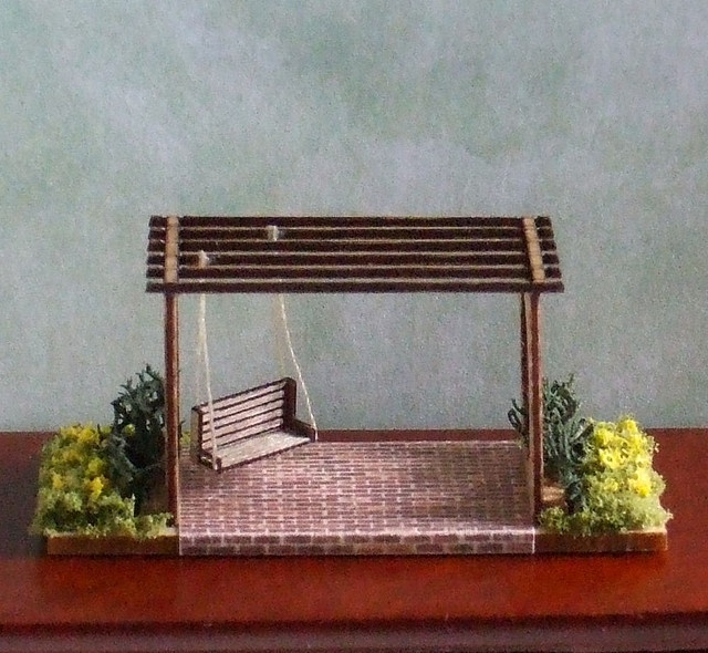 1/144th scale micro mini Pergola | Flickr - Photo Sharing!