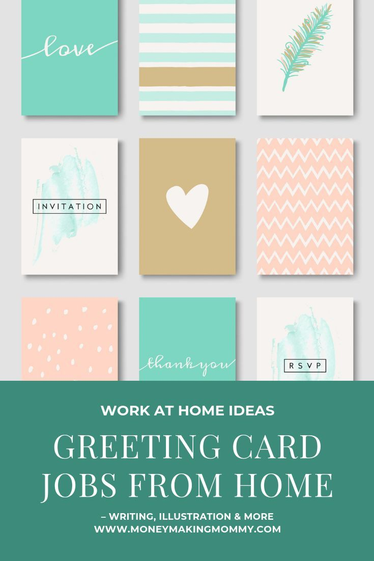 Greeting Card Jobs From Home Writing Illustration More