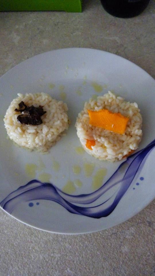 risotto ai funghi porcini  risotto alla zucca
