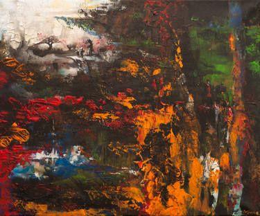 "Saatchi Art Artist Anna Felföldi; Painting, ""Fairy tale"" #art"