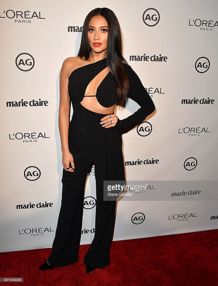 Shay Mitchell arrives at the Marie Claire's Image Maker Awards 2017 on January 10, 2017 in West Hollywood, California.