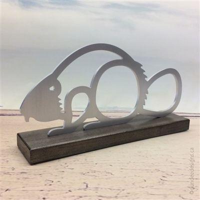 Beaver Sculpture by Shirley Lloyd-Davies of Dundee Designs Inc.