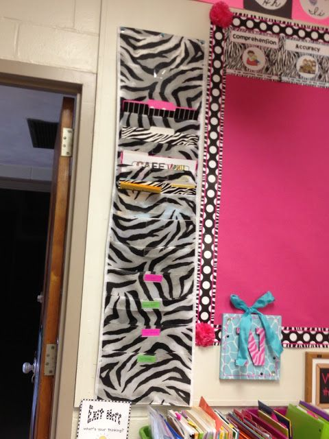 """Now Teach!  {Organizing for Instruction} -use hanging file folders for extra student """"cubbies""""."""