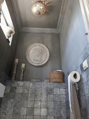 Toilet kalkverf