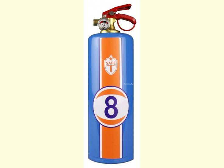 Extintor decorado - Modelo RACING de Safe-T