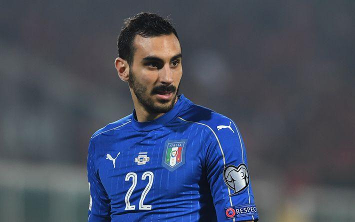 Download imagens Davide Zappacosta, futebol, Chelsea, Equipa nacional italiana, Italiano jogador de futebol