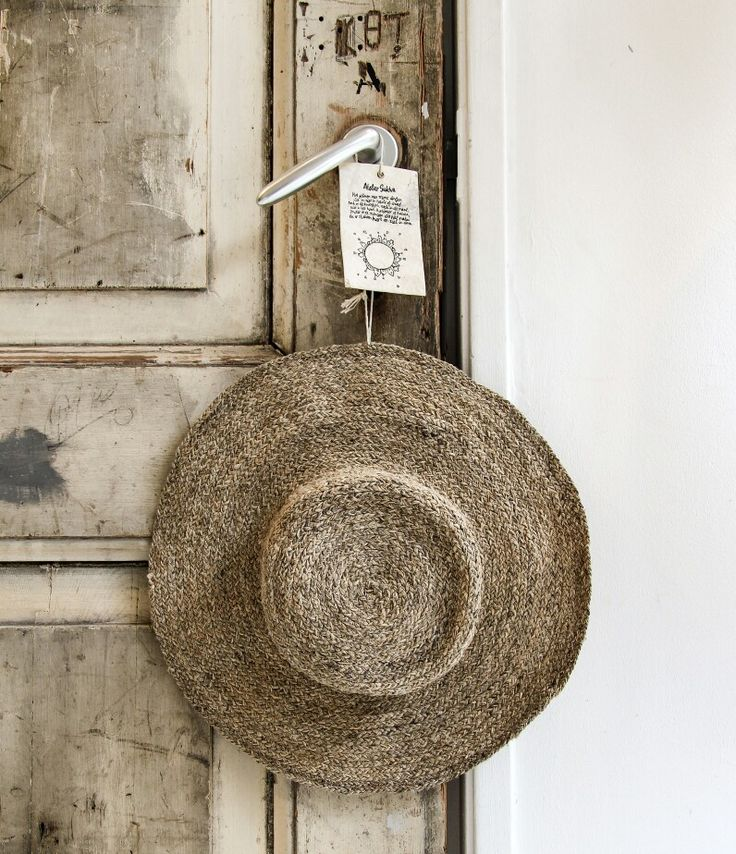 Top it off with Atelier Sukha's Summer hat. Bring on the sunshine! www.atelier-sukha.nl/product/hat-sev