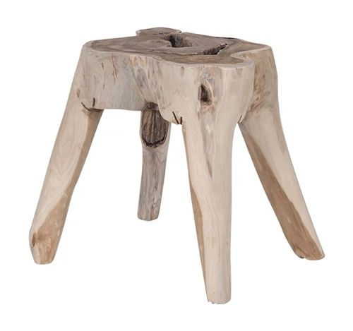 The Sodwana Stool by Uniqwa features a gorgeous design which can be used either as a side table or stool.  Each piece is individual and made from a solid teak root.  A great buy at $319.