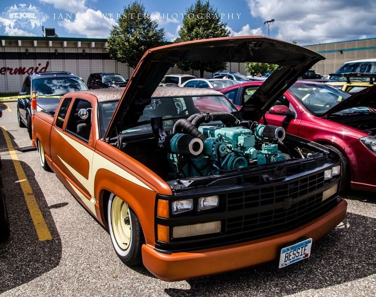 Jeffrey Jarzynski Entered His 1989 Chevy C1500 in the JEGS