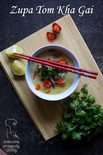Kulinarne przygody Gatity: Zupa Tom Kha Gai