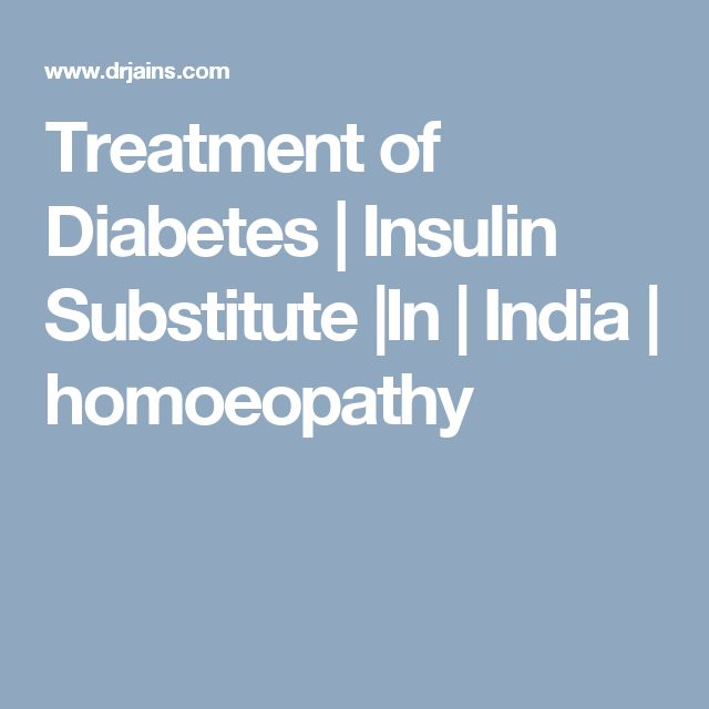 Treatment of Diabetes | Insulin Substitute |In | India | homoeopathy