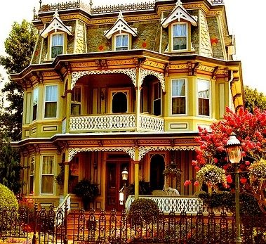 Dollhouse color.       Awesome Victorian house by winterv