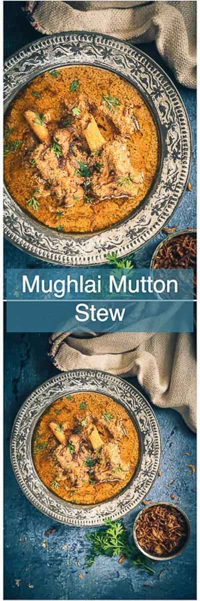 This Old Delhi Style Mughlai Mutton Stew recipe is a royal, delicious assemblage of fine flavours brewed with mutton and spices. Indian I Mutton I Curry I Curries I Spicy I Traditional I Authentic I easy I Simple I Quick I Perfect I Homemade I Food I Recipe I Photography I Styling I
