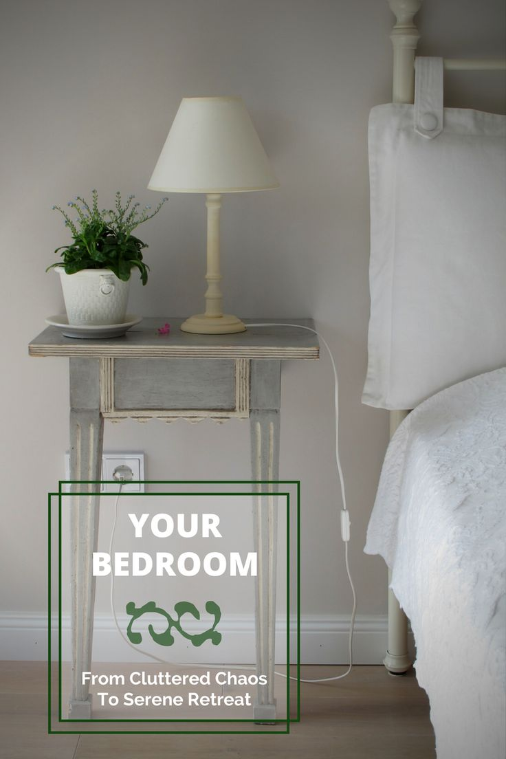 See How to Turn Your Bedroom From Cluttered Chaos To Serene Retreat :) https://blog.fantasticservices.com/transform-your-bedroom-from-cluttered-chaos-to-serene-retreat/?smm=5