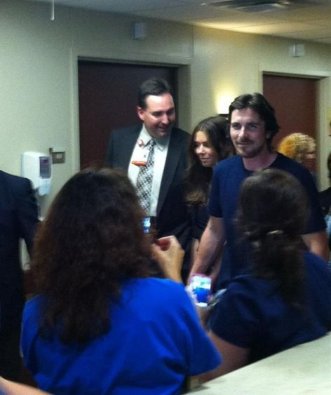 Christian Bale Visits Shooting Victims in Colorado - NYTimes.com