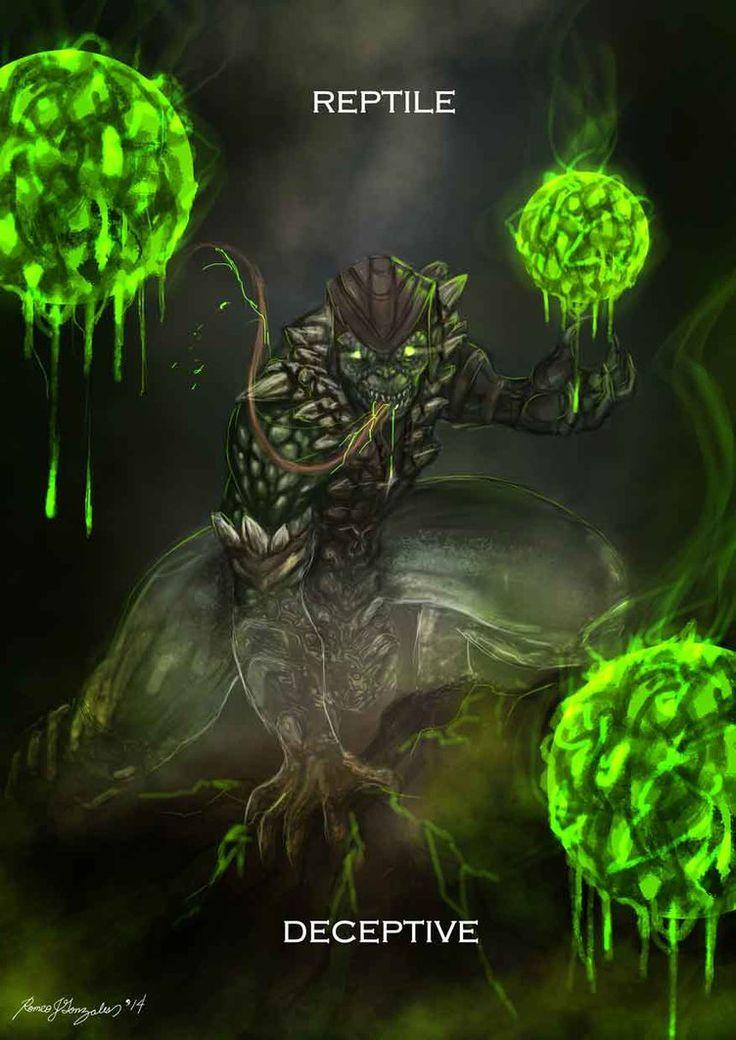 Mortal Kombat X Reptile Deceptive by Grapiqkad