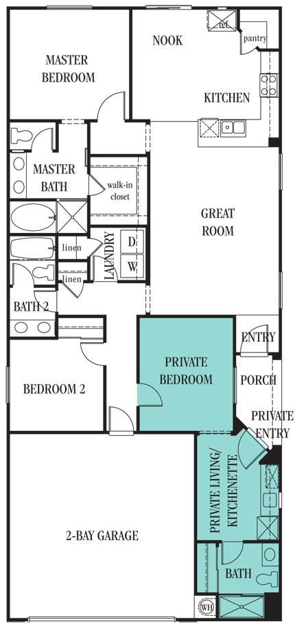 Lennar Las Vegas Freedom Floor Plan The Stunning 1 531 Sq