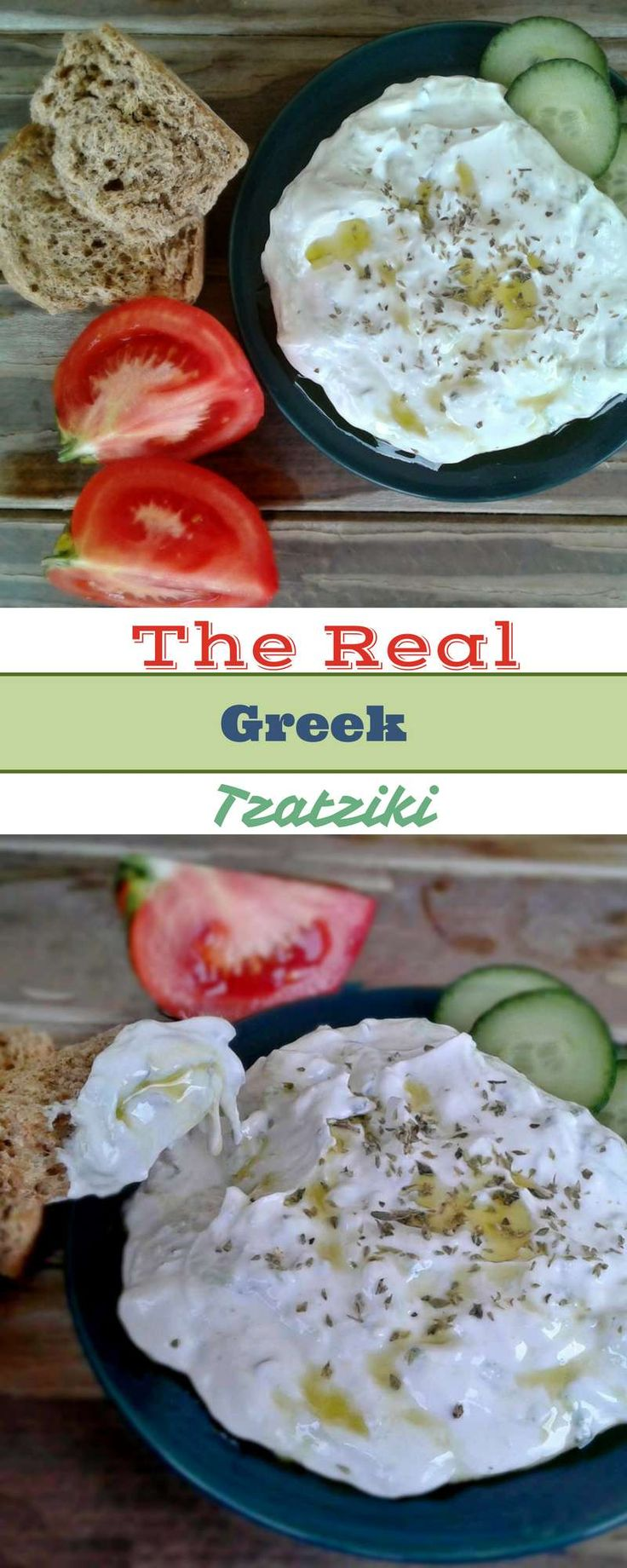 Creamy garlicky yogurt dip. Greek tzatziki is a very healthy, refreshing and truly addictive appetizer. It goes perfectly with meat dishes. Another pro, is that it doesn't spoil quickly. Garlic and vinegar are top natural food preservers. That's why you can keep it in your fridge for up to ten days.