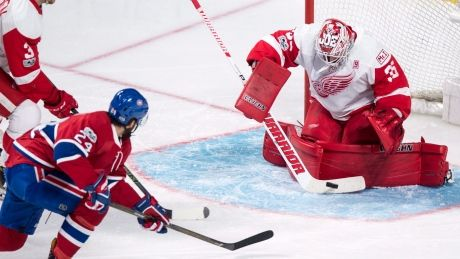 Canadiens fall flat with OT loss to Red Wings