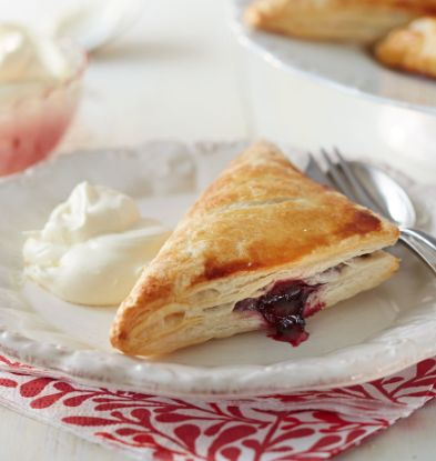 These wonderfully gooey turnovers are easier to make than you might think. Serve with a dollop of cream for a sophisticated sweet treat. | Tesco