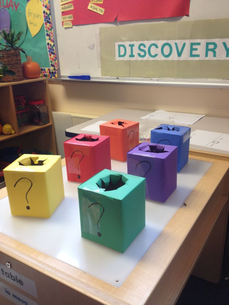Use your sense of touch to guess what is in the mystery box and draw what you think it is!