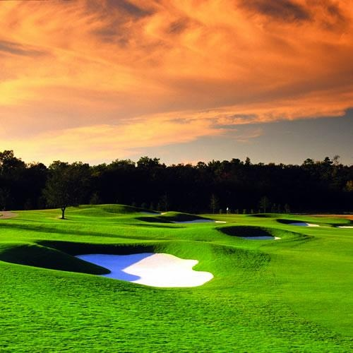 The Nicklaus Design Tradition Course at Reunion Resort in Orlando, Florida. What a sky! http://www.nicklaustravel.com/Tradition-Course-Ginn-Reunion-Resort-profile.html