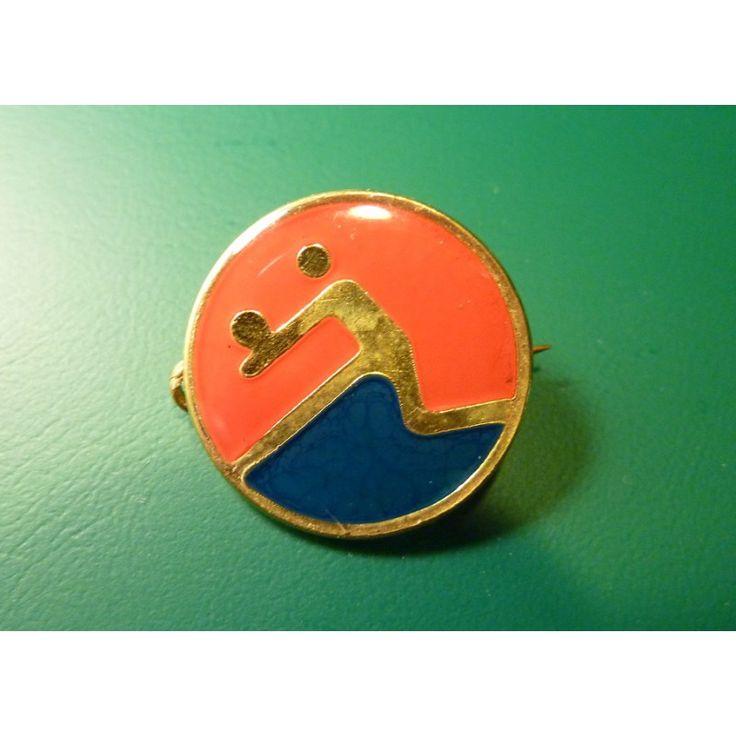 Cuba - sports badge volleyball