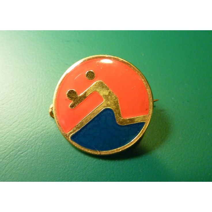 Cuba - sports badge volleyball