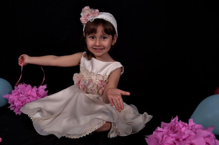 Βαπτιστικό φόρεμα Αριάδνη,Girls dress