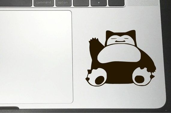 Pokemon Snorlax Decal For Laptops And Cars Etsy Pokemon Snorlax Pokemon Decal Cute Pokemon