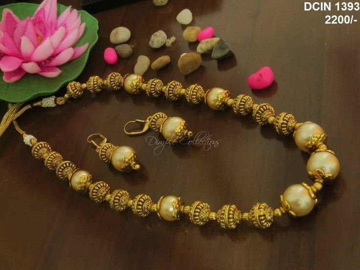 South Sea Pearls Necklace from Dimple Collections www.addiga.com