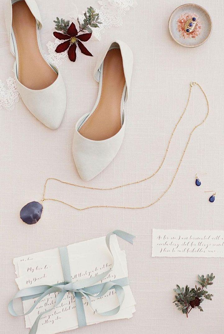 83288ff7375 Flat white wedding shoes