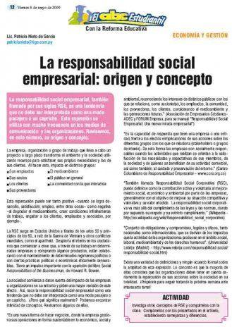 La responsabilidad social empresarial: origen y concepto - Articulos - ABC Color
